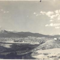 Panorámica de alrededores de Elciego. 1960