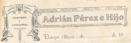 Adrian Pérez membrete