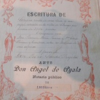 1926 .- Julio Santos Peciña cumpliendo el Servicio Militar en Larache.